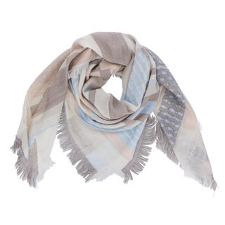 LA77 Abstract Tapestry Square Scarf