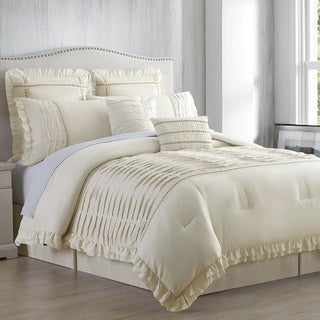 amrapur overseas antonella 8piece comforter set option california king