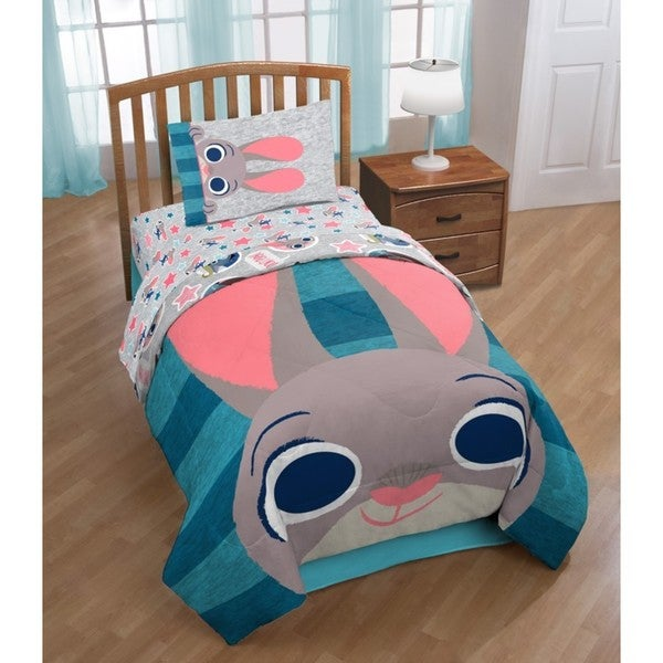 Shop Zootopia Twin 5 Piece Bed In A Bag Set Multi Free
