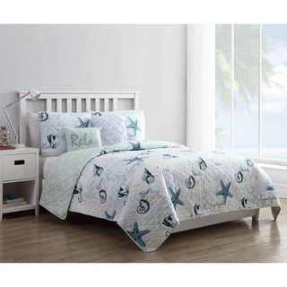 VCNY Home Shore Life 5 Piece Quilt Set