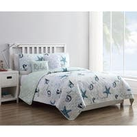 VCNY Home Shore Life Quilt Set