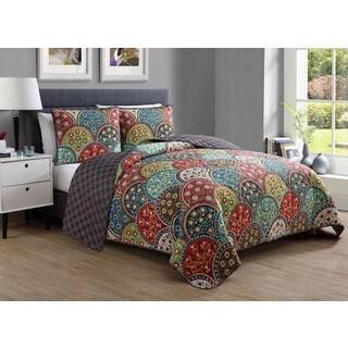VCNY Home Mara 3-piece Quilt Set
