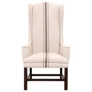 Riley Striped Jute Arm Chair