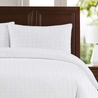 Newport Cotton 3-Piece Duvet Cover Set