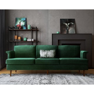 Amazing Porter Forest Green Sofa