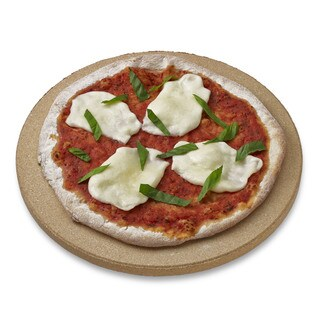 "Honey Can Do pizza stone 10.5"" personal-size round"