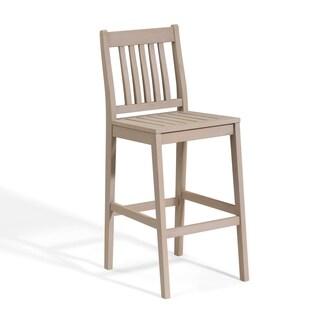 Oxford Garden Wexford Grigio Shorea Bar Chair