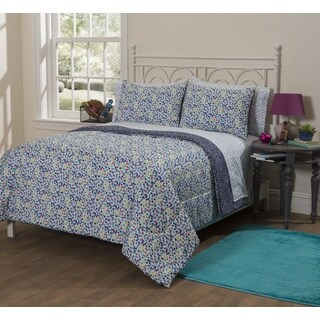 Latitude Scattered Dots 7-piece Bed in a Bag with Sheet Set