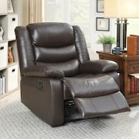 Acme Furniture Fede Espresso Top Grain Leather Recliner