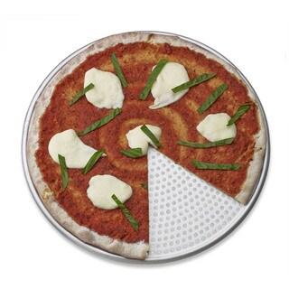 "perforated pizza pan: 15"" aluminum"
