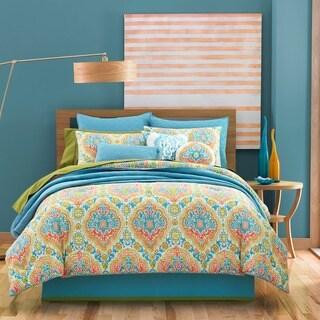 Five Queens Court Juniper 4-piece Cotton Comforter Set