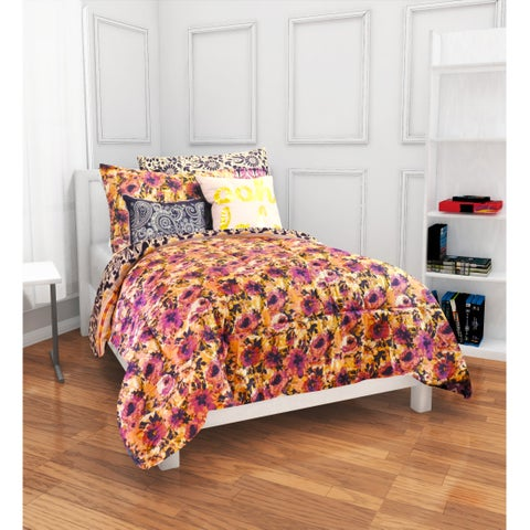 Formula Anna Boho 9-piece Bed in a Bag with Sheet Set