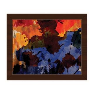 Shaman Framed Canvas Abstract Wall Art Print
