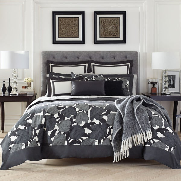 Jones New York Bridgette Border Cotton Comforter Set