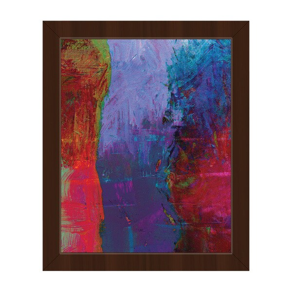 Neanderthal Framed Canvas Abstract Wall Art Print