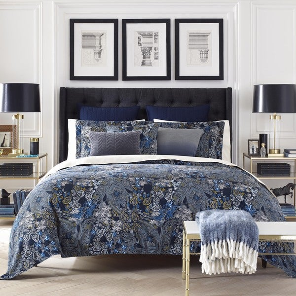 jones new york hutton paisley cotton comforter set