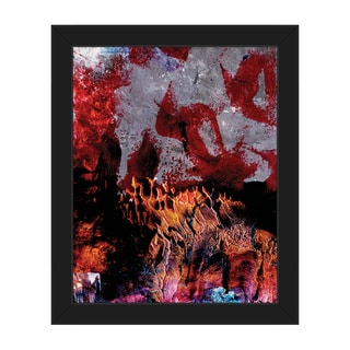 Gonkoro Framed Canvas Abstract Wall Art Print