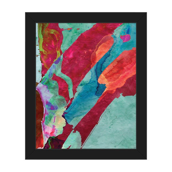 Dagaba\' Framed Canvas Abstract Wall Art Print - Free Shipping Today ...