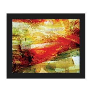 Chupacabra Framed Canvas Abstract Wall Art Print