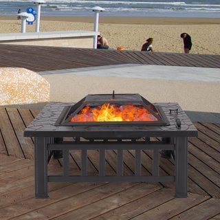 Adeco Metal Fire Pit