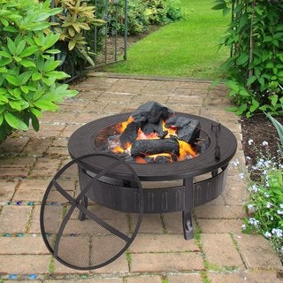 Adeco Round Firepit