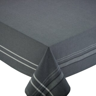 Grey French Chambray 60-inch x 104-inch Tablecloth