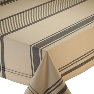 Butcher Block Plaid Cotton 52-inch Square Tablecloth