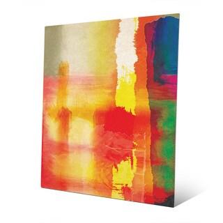 Burning Horizons Abstract Metal Wall Art Print