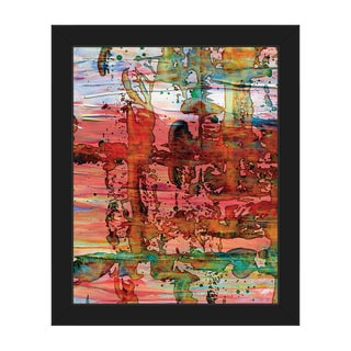 Gymba Abstract Framed Canvas Wall Art Print