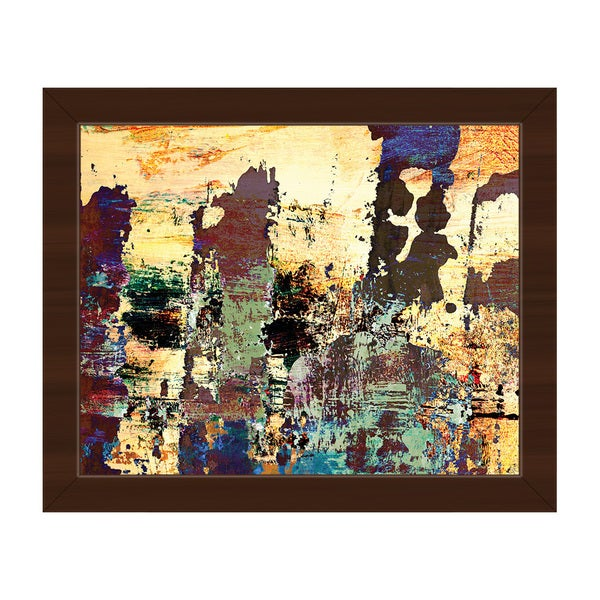 Sorry Safari Framed Canvas Print Abstract Wall Art