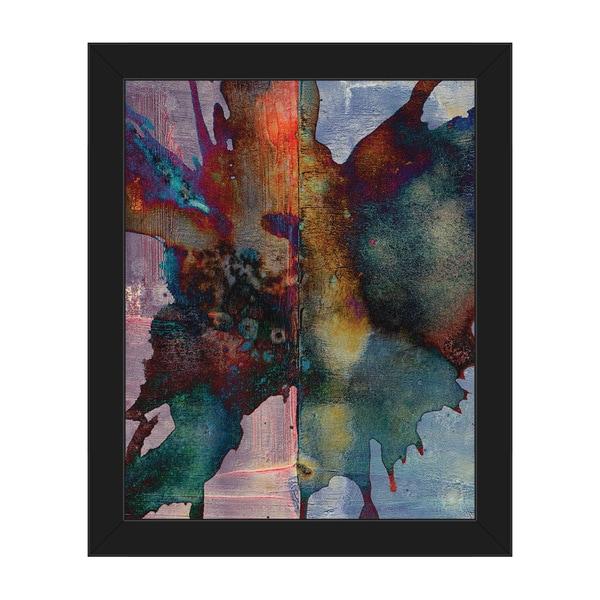 Shop \'Namaku\' Framed Canvas Abstract Wall Art Print - On Sale - Free ...