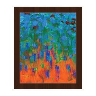 Aodh Framed Canvas Abstract Wall Art Print