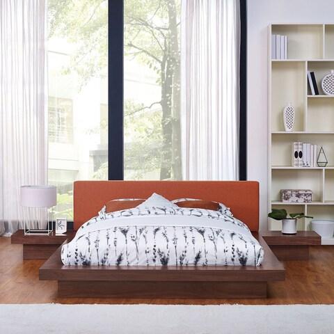 Freja 3 Piece Queen Fabric Bedroom Set