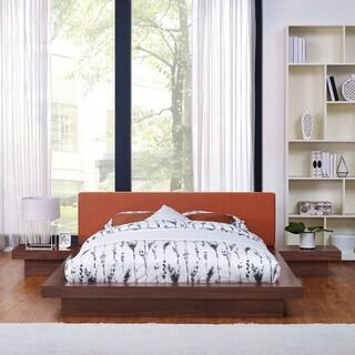 Fujian 3 Piece King Size Platform Mid Century Style Bedroom Set Free Shipping Today