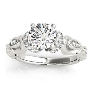 Transcendent Brilliance 14k Gold 5/ 8ct TDW Diamond Victorian Engagement Ring