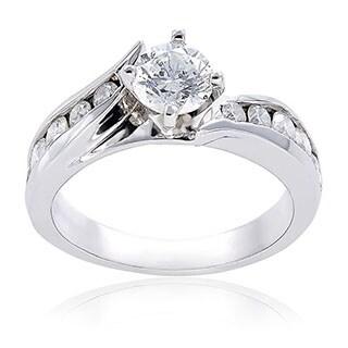 Annello by Kobelli 14k Gold 1ct TDW Diamond Engagement Ring (H-I, I1-I2)