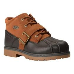 Men's Lugz Avalanche Strap Ankle Boot Dark Brown/Rust/Gum