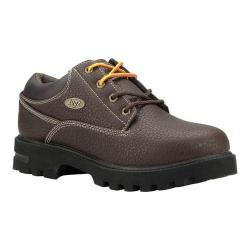 Men's Lugz Empire Lo WR Dark Brown/Black/Cream Perma Hide/Synthetic