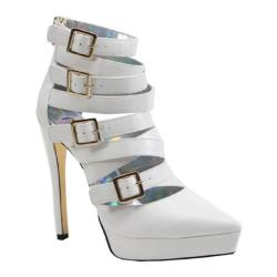 Women's Luichiny Take Me Back High Heel White Imi Leather
