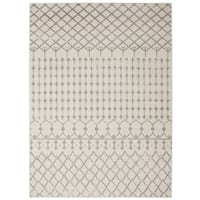Jasmin Collection Moroccan Trellis Area Rug (7'10 x 9'10)
