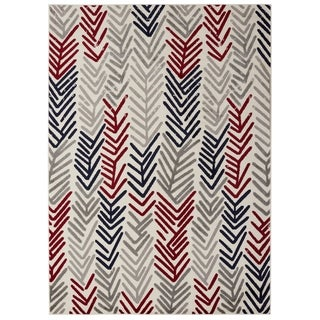 Jasmin Collection Floral Area Rug (7'10 x 9'10)