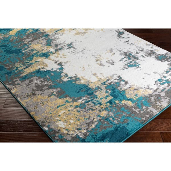 Avery Abstract Watercolor Area Rug On Sale Overstock 14101573