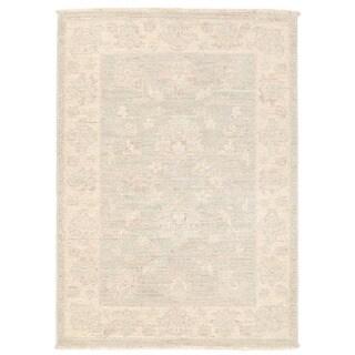 Herat Oriental Afghan Hand-knotted Vegetable Dye Oushak Wool Rug (2'3 x 3'1)