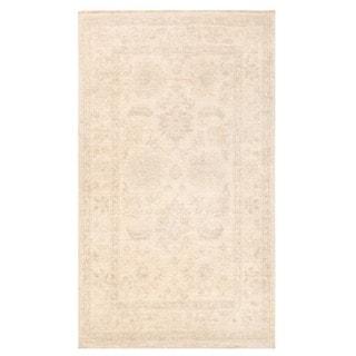 Herat Oriental Afghan Hand-knotted Vegetable Dye Oushak Wool Rug (2'9 x 4'8)