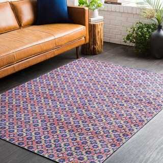 "Machine Woven Tuftonboro Polypropylene, Cotton Rug (7'10"" x 10'3"")"