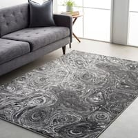 Cameron Whimsical Abstract Area Rug - 7'11 x 10'