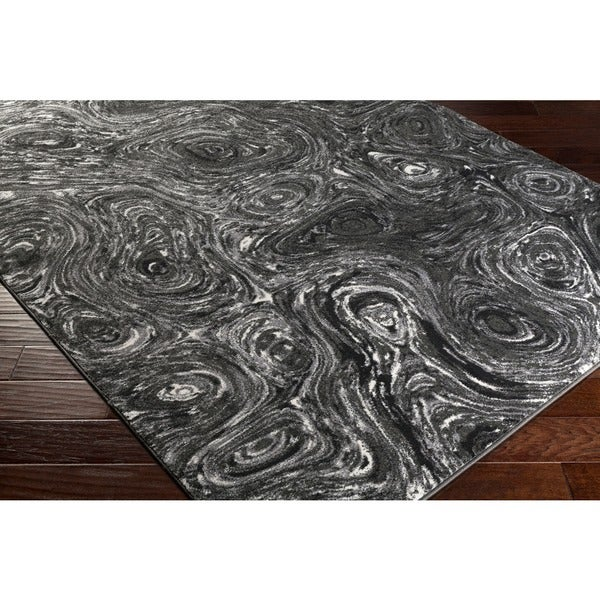 Cameron Whimsical Abstract Rug (2' x 3')