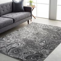 Cameron Whimsical Abstract Area Rug - 2' x 3'