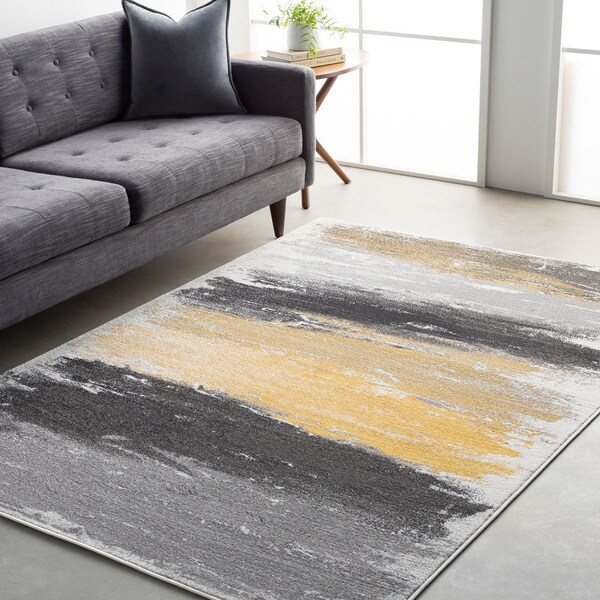 Shop Drew Vibrant Modern Area Rug On Sale Free