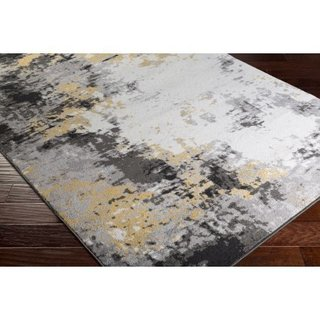 Avery Abstract Watercolor Area Rug (2' x 3')